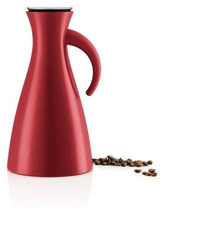 Eva Solo Термокувшин Vacuum (1 л), высокий, красный, 15.5x29 см