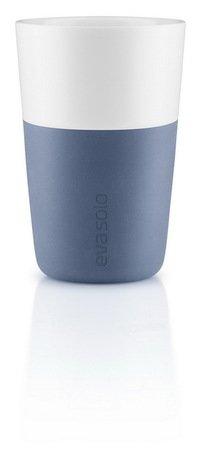 все цены на Eva Solo Чашки для латте Latte, лунно-голубые, 8.5x12.5 см (360 мл), 2 шт. онлайн