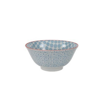 Tokyo Design Чаша Tokyo Design Colored Tayo, голубая, 15x7 см чаша для супа голубая тулуза