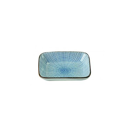 Тарелка Tokyo Design Sendan, синяя, 9.3x7x2.3 см 2482