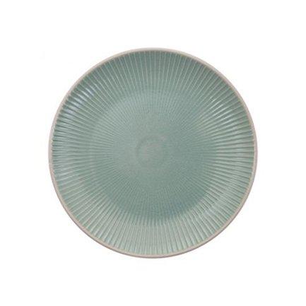 Tokyo Design Тарелка Tokyo Design Textured, зеленая, рельефная, 20x2.5 см