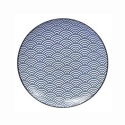 Tokyo Design Тарелка Tokyo Design Nippon, синяя, 25.7x3 см
