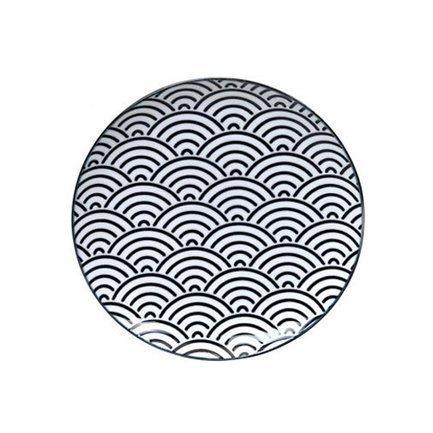 Тарелка Tokyo Design Nippon, черная, 25.7x3 см 8663