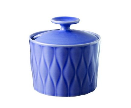 Loveramics Сахарница Weave (0.28 л), 10х9.8 см, синяя C080-15BIN