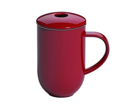 Кружка с ситечком Loveramics Pro Tea (0.45 л), 13х8.5х13.5 см, красная C097-17ARE