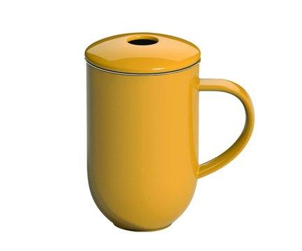 Loveramics Кружка с ситечком Loveramics Pro Tea (0.45 л), желтая C097-18AYE Loveramics loveramics чайник loveramics pro tea 0 6 л 18 5х12 см зеленый c097 13amt loveramics