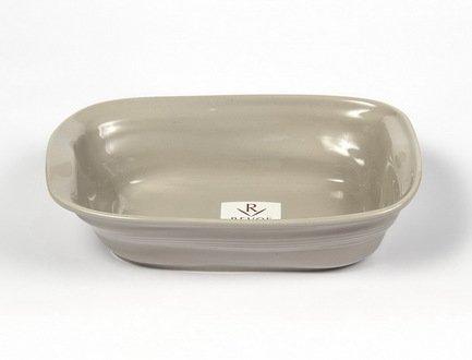 Revol Мятое блюдо Фруаз (0.5 л), 19х13 см, темно-серое (FR0719-131)