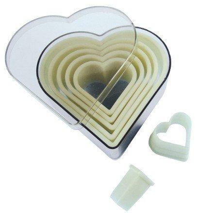 Набор фрез рифленых Сердце, 7 шт. (4301.10) от Superposuda