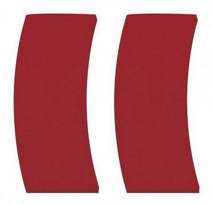 Cristel Съемные боковые силиконовые ручки для формы, 8 см (PTMFLR), 2 шт. cristel мельничка для соли прозрачная 15 см мехаизм пежо