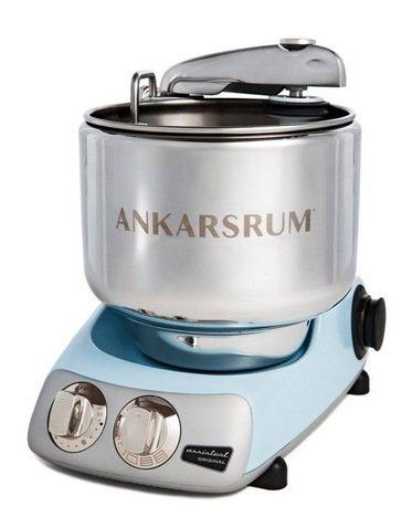 Ankarsrum Кухонный комбайн Original Assistant AKM6220PB (7 л), базовый комплект, 26.8х36х40 см, голубой перламутр