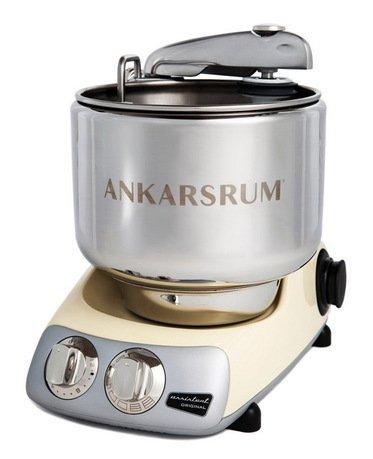 Ankarsrum Кухонный комбайн Original Assistant AKM6220C (7 л), базовый комплект, 26.8х36х40 см, кремовый