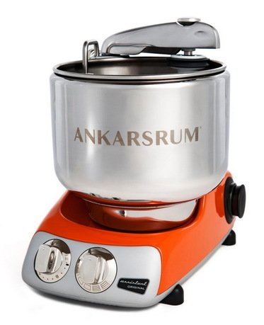 Ankarsrum Кухонный комбайн Original Assistant AKM6220PO (7 л), базовый комплект, 26.8х36х40 см, оранжевый