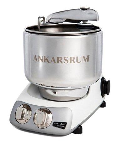 Ankarsrum Кухонный комбайн Original Assistant AKM6220MW (7 л), базовый комплект, 26.8х36х40 см, минерально белый
