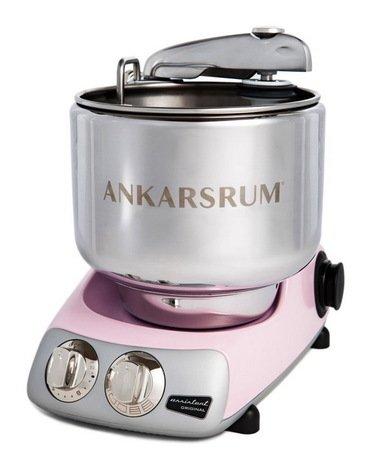 Ankarsrum Кухонный комбайн Original Assistant AKM6220PP (7 л), базовый комплект, 26.8х36х40 см, розовый перламутр