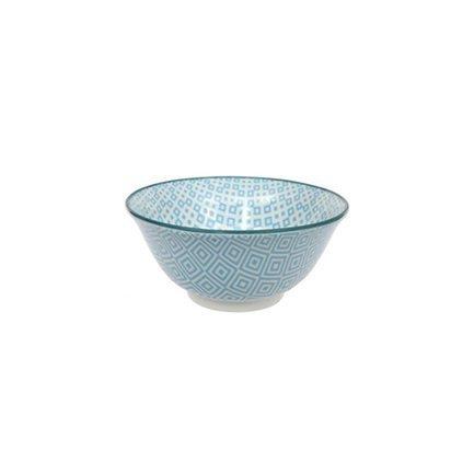 Чаша Tokyo Design Geometric Eclectic, голубая, 15x6.8 см 14178