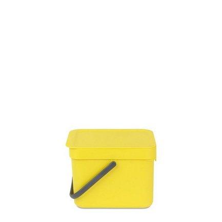 Brabantia Ведро для мусора Sort & Go (6 л), 26.5х20х18.1 см, мятное 109683 Brabantia a gauge 7 inch lcd at070tn94 highlight navigation screen screen