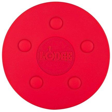 Lodge Силиконовая магнитная подставка, 18 см, красная christmas at promise lodge