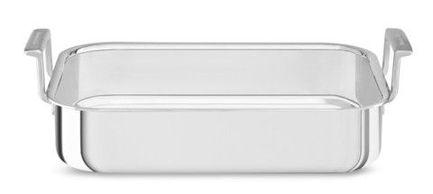 KitchenAid Форма для запекания, 27.5х37х7.5 см KC2T35RPST KitchenAid kitchenaid kblr04nsac набор из 4 керамических кастрюль для запекания cream