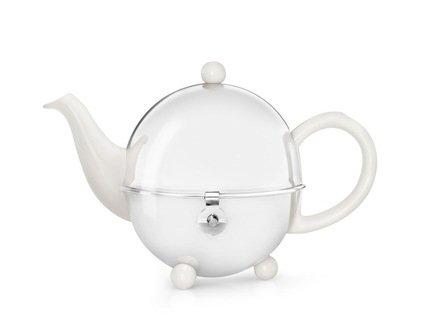 Bredemeijer Чайник заварочный Cosy (0.5 л), белый 1300W Bredemeijer bredemeijer чайник заварочный xian 1 15 л красный g010r bredemeijer