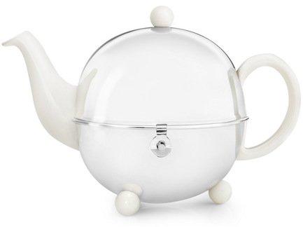 Bredemeijer Чайник заварочный Cosy (1.3 л), белый 1302W Bredemeijer bredemeijer чайник заварочный xian 1 15 л красный g010r bredemeijer
