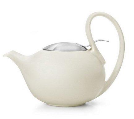Bredemeijer Чайник заварочный Jasmin (0.9 л), кремовый J001CR Bredemeijer bredemeijer чайник заварочный xian 1 15 л красный g010r bredemeijer