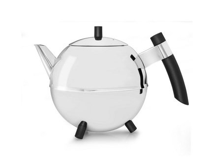 Bredemeijer Чайник заварочный Meteor (1.2 л), черный 4304Z Bredemeijer заварочный чайник 1 0 л uncommon флора al tp148 5087 un