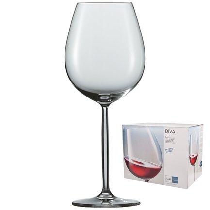 Набор бокалов для воды / красного вина 612 мл , 6 шт.Diva