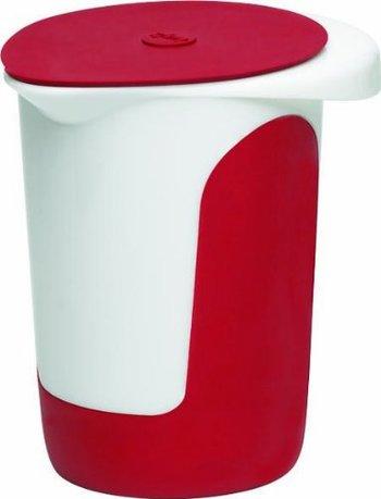 EMSA Миска для смешивания с крышкой Mix&Bake 508017 (1 л), красная