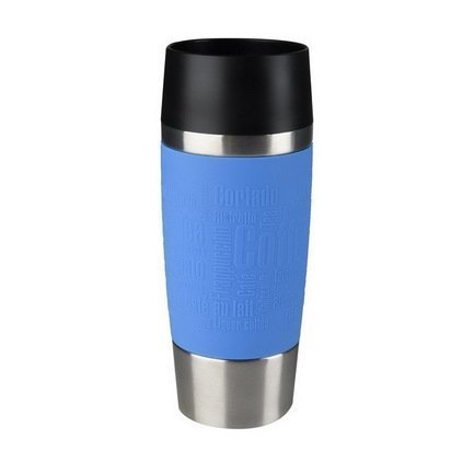 EMSA Термокружка Travel Mug 513552 (0.36 л), голубая термокружка emsa senator travel cup 1751401600
