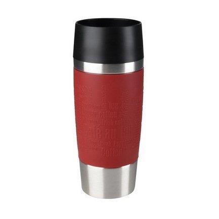 EMSA Термокружка Travel Mug 513356 (0.36 л), красный термокружка emsa travel mug цвет черный 360 мл