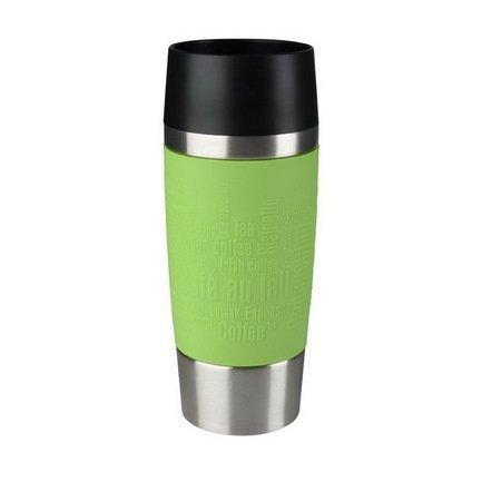 EMSA Термокружка Travel Mug 513548 (0.36 л), ярко-зеленый термокружка emsa travel mug fun 0 36l white black 514176