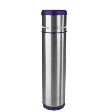 EMSA Термос Mobility 509227 (0.7 л), фиолетовый/сталь термокружка emsa travel mug 360 мл 513351
