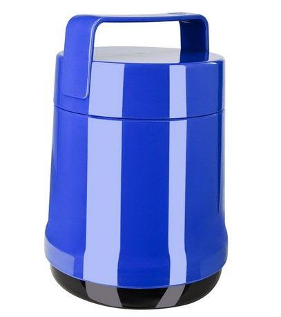 EMSA Термос для еды Rocket 514533 (1 л), 2 контейнера, синий сушилка для салата emsa basic 4 л
