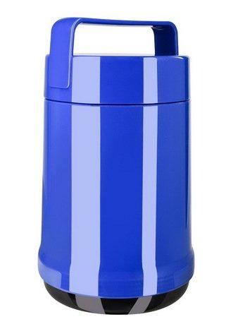 EMSA Термо для еды Rocket 514535 (1.4 л), 2 контейнера, синий 62203 EMSA контейнер для торта emsa superline с охлаждающим элементом цвет голубой 2 л