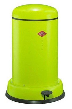 Wesco Ведро для мусора с педалью (15 л), 36.2х53.5 см, лайм (117544) 135331-20 Wesco brabantia мусорный бак с педалью newicon 30 л 67 5х30х34 см серый металлик