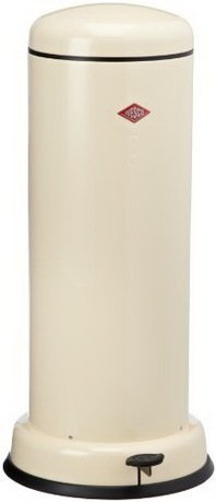 Wesco Ведро для мусора с педалью (30 л), 36.2х80 см, кремовый (117562) 135731-23