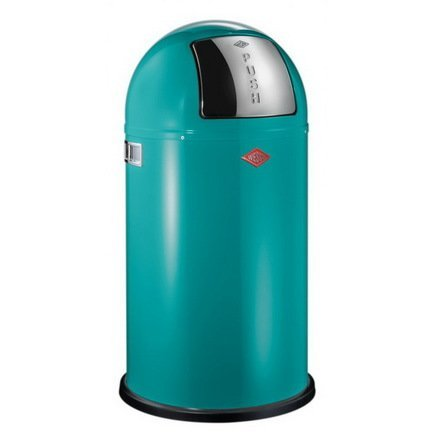 Wesco Ведро для мусора с заслонкой (50 л), 40х75.5 см, бирюза (117578) 175831-54 Wesco