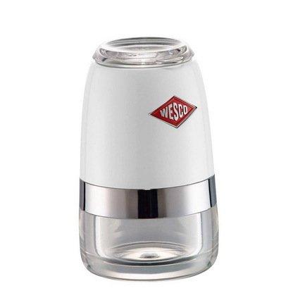 Wesco Мельница для специй, 6х10 см, белый (322775-01) 322775-01 Wesco wesco мельница для специй высокая peppy mill 30х7 5 см кремовая