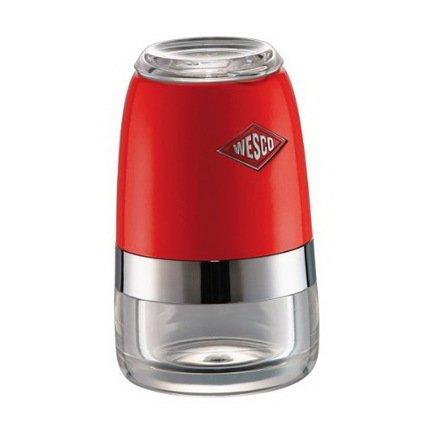Wesco Мельница для специй, 6х10 см, красный (322775-02)  wesco мельница для специй высокая peppy mill 30х7 5 см кремовая