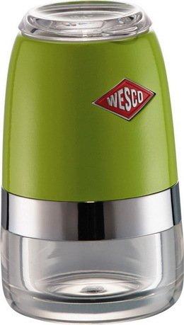 Wesco Мельница для специй, 6х10 см, зеленый лайм (322775-20)  wesco мельница для специй высокая peppy mill 30х7 5 см кремовая