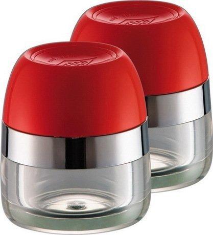 Wesco Баночки для хранения специй, 2 шт., 6х7 см, красные (322776-02)