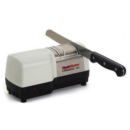 Фото - Точилка для ножей Hybrid, электрика + механика CC220W Chefs Choice точилка chefs choice knife sharpeners для ножа