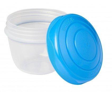 Sistema Контейнер для йогурта To Go (150 мл), 7.4х13.7 см, 2шт. sistema солонка и перечница to go 35 мл 6 5х3 4х7 2 см 2 шт