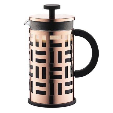 Bodum Кофейник с прессом Eileen (1 л), медь 11195-18 Bodum bodum кофейник с прессом chambord 0 35 л с медным покрытием