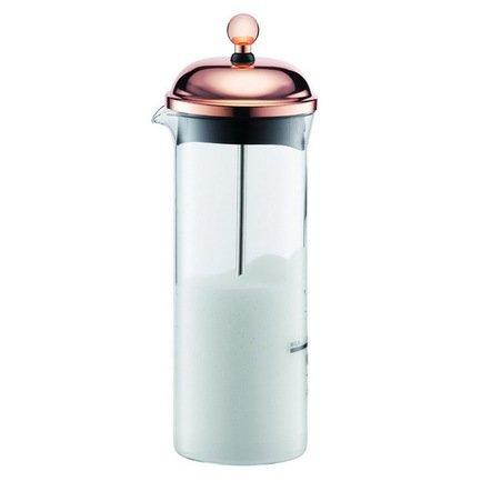Bodum Взбиватель для молока Chambord (0.15 л), медь 11653-18 Bodum bodum кофейник с прессом chambord 0 35 л с медным покрытием