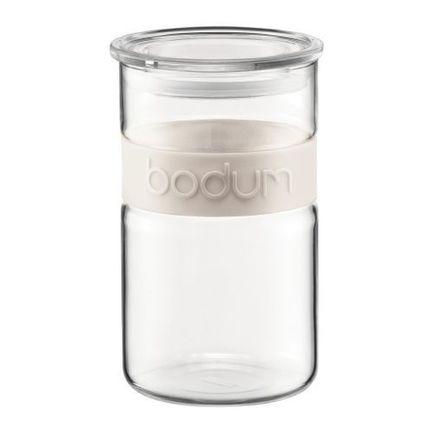 Bodum Банка для хранения Presso (1 л), белая 11099-913 Bodum банка lockamplock interlock 1 л