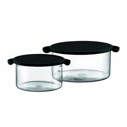 Набор емкостей для запекания, универсальных Hot Pot, 2 шт, черный K10127-01 Bodum