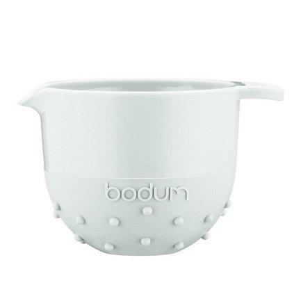 Bodum Миска Bistro (0.7 л), белая 11561-913B Bodum bodum миска bistro 1 4 л черная 11562 01b bodum