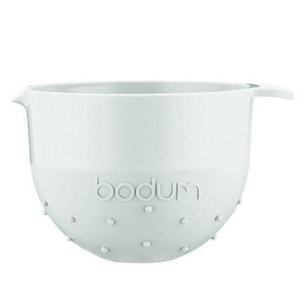 Bodum Миска Bistro (1.4 л), белая 11562-913B Bodum bodum миска bistro 1 4 л черная 11562 01b bodum