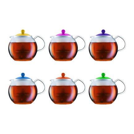 Bodum Чайник заварочный Assam (1 л), цвета в ассортименте A1830-XYB-Y15